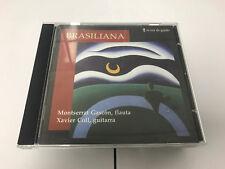 Braziliana Music for flute & Guitar M.Gascon/X.Coll CD 8431471520827 RARE SIGNED