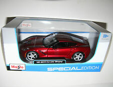Maisto - 2014 CORVETTE STINGRAY COUPE - Model Scale 1:24