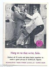 """1960 's MAN From U.N.C.L.E. (41) Hang on to that wrist, Solo """" Excellent  """""""