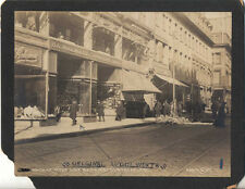1905 PHOTO OF FIRST WOOLWORTH 5 10 CENTS STORE - UTICA, NY