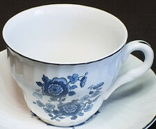 Royal Blue Ironstone China by Enoch Wedgwood, Coffee Cup!