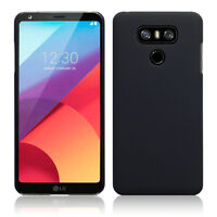 Slim Rugged High Density Rubberized Composite   Urban Cover Black For LG G6 Case