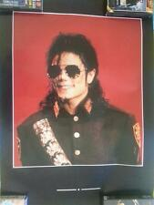 MICHAEL JACKSON BIG POSTER DANGEROUS rare period 92/95