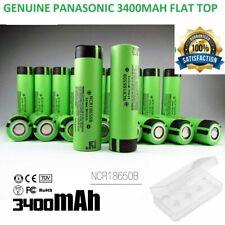 Genuine Panasonic 18650 3400mAh Rechargeable Battery NCR18650B Li-ion