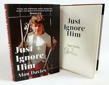 Signed Book - Just Ignore Him by Alan Davies First Edition 1st Print