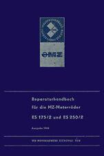 Reparaturhandbuch für MZ ES 175/2 und ES 250/2 🔧 Reparaturanleitung DDR