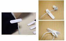 1X MINI CLIP MICROFONO AURICOLARI CUFFIE Iphone Smartphone cellulare pinza cavo