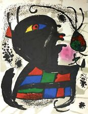 Joan Miró, Untitled 1977, Hand Signed Lithograph E.A.
