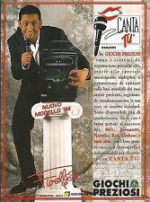 X7970 CANTA TU - Fiorello - Giochi Preziosi - Pubblicità 1994 - Vintage advert.