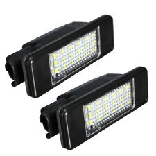 2X License Plate Light Lamp 18 LED for PEUGEOT CITROEN C2 C3 C4 C5 3008 5D