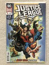 DC Universe Justice League #1 Signed Scott Snyder w/COA