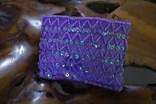 0d1abcd87106b Bali Mini Tasche Aufbewahrung Geldbörse Pailletten Kunst Perlen Bunt 13x10  cm