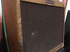"1960 Fender Harvard Guitar TubeAmp Original Tweed 10"" Jensen"