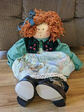 "1989 1995 Little Souls 24"" Doll Josephine By Gretchen Wilson Signed"