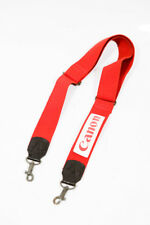 CANON Vintage Strap Red Camera Strap-White Patch Strap Belt Correa Camara