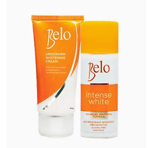 Belo Intense White Deodorant 40mL and Underarm Whitening Cream 40g