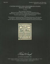 U.S. & Confederate States Covers, R.A. Siegel, Sale 810, April  27-29, 1999