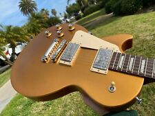2017 Gibson Les Paul Tribute Satin Goldtop Left Handed Lefty 60's Slim Neck