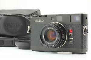 [MINT] Minolta CLE Rangefinder Camera + M Rokkor 40mm f2 Late Lens from JAPAN