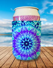 Mandala Collapsible Stubby Holder Can Cooler