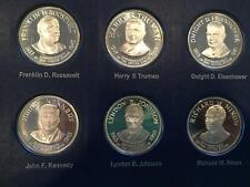 Vintage Franklin Mint Treasury Of Presidential Commemorative Medals in Album