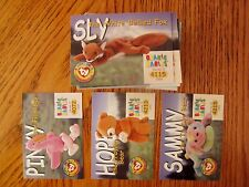 Ty Beanies Babies Series II 1999  Cards LOT OF 63 different plus POSTER