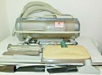 Vintage Electrolux Automatic Model G Canister Vacuum Retractable Cord Lot VTG