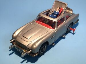 CORGI TOYS VINTAGE 270 JAMES BOND 007 ASTON MARTIN DB5 CAR RARE VERY GOOD