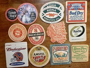 BULK LOT Vintage Beer Coasters Iroquois Head Simon Pure Kona Pyramid Ales