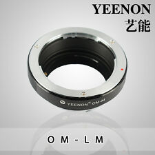 YEENON Olympus OM Lens to Leica M Mount Adapter (No rangefinder coupled )