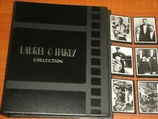 Laurel & Hardy Collection Binder & Mini-Master Sets Of Trading Cards Very Rare