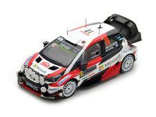 Toyota Yaris WRC N°10 2ème Rallye Monte Carlo 2017- J.-M Latvala 1/43 Spark
