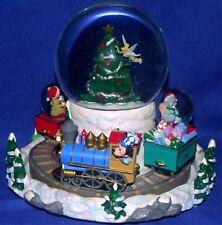 Walt Disney World Disney Mickey & Friends Christmas Train Snowglobe New