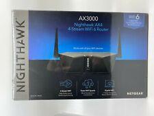 New & Sealed - NETGEAR Nighthawk AX4 4-Stream WiFi 6 Router - RAX35 - AX3000