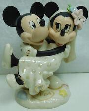 Disney personaje Lenox porcelana con oro 836701 Minnie's dream Beach Wedding 12,7cm