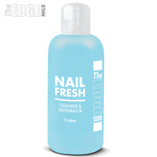 THE Edge Nails Nail Fresh 1 Litre Dehydrating & Cleanser Stops Nails Lifting