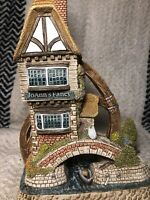 David Winter Cottages Rare Jo Ann's Fancy Ltd Edition Boxed Coa Mint
