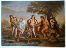 """Urteil des Paris"" - Giordano Luca Nachfolger um 1800"