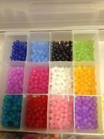 TROUT OR  SALMON ASST 40 CT PACK  8 MM BEADS AWESOME STEELHEAD