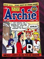 Archie Comics, Archie Pub #69, 7/8-'54 F+ Nice All Around Copy