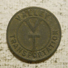 Valley Transportation (Lemoyne, Pennsylvania) transit token - PA565D