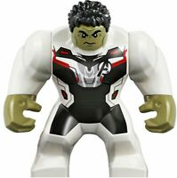 LEGO Hulk Big Fig Minifigure sh611 Marvel Avengers Endgame 76144 White Jumpsuit
