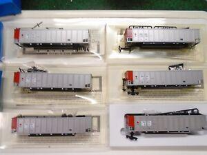 E&C Shops Ho Johnston Coal Porter car kits(6), PGEX,