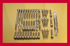 Suzuki Intruder VL 1500 Stainless Steel Bolt-kit Screws-set Motor Engine Cover
