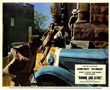 BONNIE AND CLYDE 1967 Warren Beatty, Faye Dunaway, Gene Hackman 10x8 LOBBY CARD