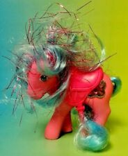 Princess Primrose + Saddle My Little Pony G1 1987 Princess Ponies Vintage Hasbro