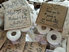 Wedding Favours Polo Mints  'Mint to be' -KRAFT Carded