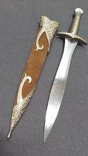 LOTR lord of the rings the hobbit Bilbo Frodo Golden Sword Dagger Sharp Blade