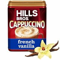 ( 12 Pack ) Hills Bros French Vanilla Cappuccino Beverage Mix Light Coffee 16 Oz