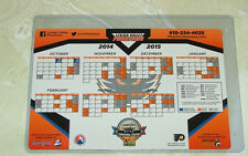 Philadelphia Phantoms Refrigerator Magnet Schedule 2014-15 Hockey Ahl New